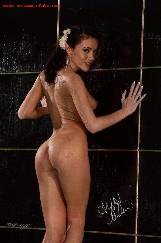 Alyssa milano butt ass naked